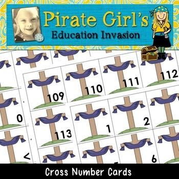 Cross Calendar Cards (Numbers 0-120)