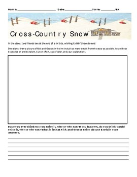 Cross-Country Snow by Ernest Hemingway Assignment