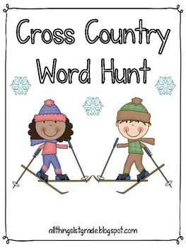 Cross Country Word Hunt