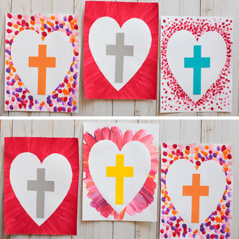 Cross Craft - Easter Religious Craft - Easter Sunday School Lesson