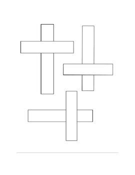 Cross Craft Template
