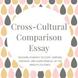 Cross Cultural Comparison Essay Research Assignment Middle School History