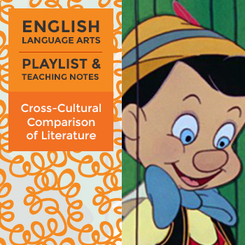 Cross-Cultural Comparison of Literature - Playlist and Teaching Notes