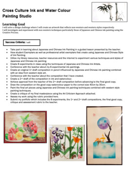 Cross Culture Ink and Watercolour Studio