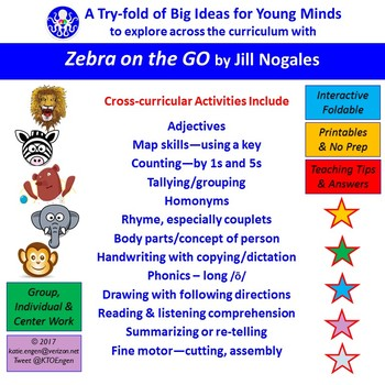 A Try-fold for Cross-Curricular Fun with 'Zebra on the Go'