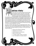 Ecology Unit - Beasts of the Deep Bestiary - Cross Curricular