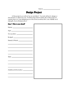 Cross-Curricular Design Project