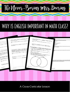 Cross-Curricular Lesson on Why English is Important in Math Class