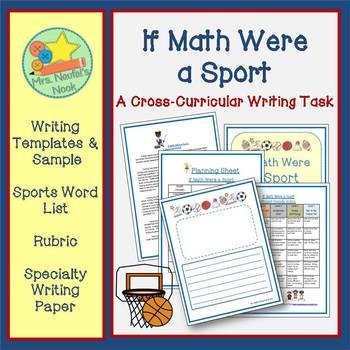 Math Writing:  Sports