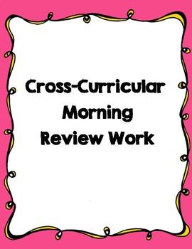 Cross-Curricular Morning Work