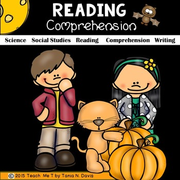 Fall Science Reading Comprehension Packet Common Core Aligned