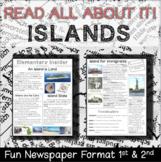 Cross Curricular Social Studies & Reading - Islands, Map Skills, & Immigrants