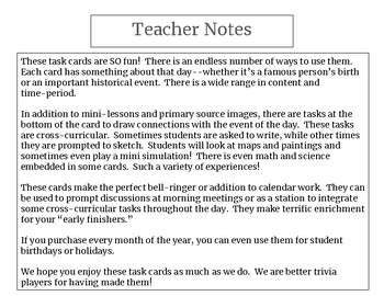 Cross-Curricular Task Cards-Journal, Early Finishers, Morning Meetings, Stations
