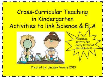 Cross Curricular Teaching for Kindergarten: Linking Science and ELA