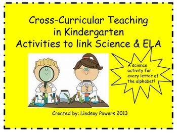 Cross Curricular Teaching for Kindergarten: Linking Scienc