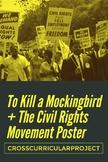 Cross Curricular To Kill A Mockingbird History Event Poster