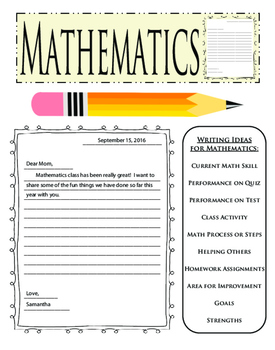 Cross Curricular Writing Friendly Letter Math Science History Template Ideas