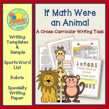 Math Writing Prompt:  If Math were an Animal