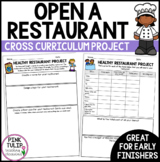 Cross Curriculum Health Project- Open a Healthy Restaurant
