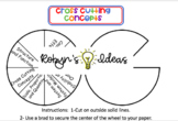Cross Cutting Concepts Interactive Notebook Wheel