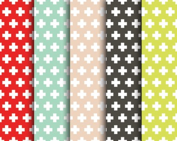 Cross Digital Paper Set #129