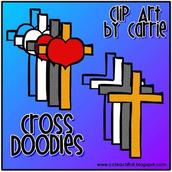 Cross Doodles FREEBIE
