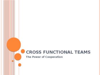 Cross Functional Teams PPT
