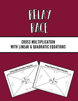 Cross Multiplication Relay Race
