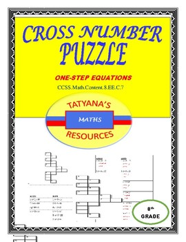 Cross-Number Puzzle - Equations