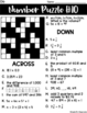 Cross Number Puzzles: Grade 6