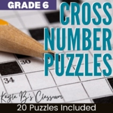Math Review Puzzles: 6th Grade