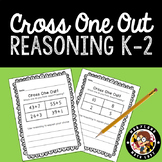 Cross One Out-Math Warm Ups that Promote Reasoning. Kinder