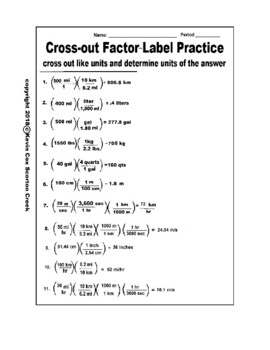 Scale Factor Worksheet Determine Scale Factor Worksheet Scale Factor besides Ninth grade Lesson Dimensional ysis Factor Label Method together with  moreover greatest  mon factor printable worksheets additionally  furthermore Medical Math For Nurses Broward College Ntg Dimensinal ysis in addition Add a word problem ex le to the powerpoint  finish notes handout besides Math Skills   Dimensional ysis besides Factor Label Method Worksheet Worksheets For   Factor Label further pre worksheets   Pre Worksheets Unit Conversions also  further Reading Nutrition Labels Worksheet   Briefencounters as well Knock Out  Metric System Factor Label Worksheet   TpT furthermore CHEMISTRY B  FACTOR LABEL PACKET NAME  HR  PAGE 1  Chemistry B together with worksheets on nutrition – primalvape co moreover Factor Label Method Worksheet  Bundle of 2  by Chem Queen   TpT. on factor label worksheet with answers