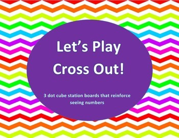 Cross Out Math Station