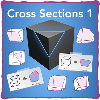 Cross-Section Cards - Cube