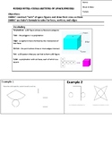 Guided Notes for Cross Sections of Space Figures
