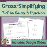 Cross Simplifying Lesson