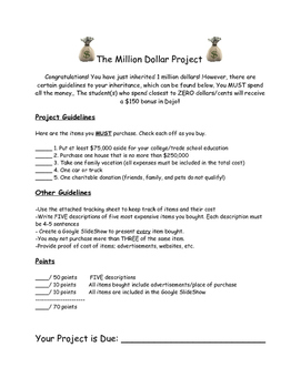 Cross-Subject Million Dollar Project