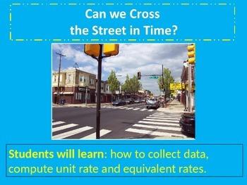 Cross Walk Rate Lab