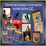 Cross-culture business bundle - for ESL adults Conversation classes