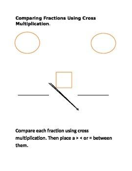Cross multiplication work Sheet