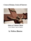 Cross of Jesus, Cross of Sorrow