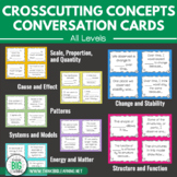 NGSS Crosscutting Concepts Conversation Cards