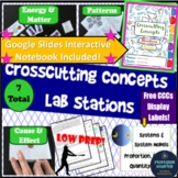 Crosscutting Concepts Digital Interactive Notebook and Lab