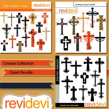 Crosses Collection Clip art bundle (3 packs)