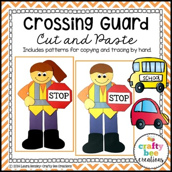 Community Helper Craft {Crossing Guard}