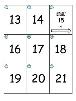 Crossing the Decades (10's - 40's) Treasure Hunt Math Game