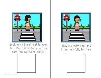 Crossing the Street Interactive Comprehension Book