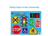 Crossing the Street-Safety Signs in the Community Power Point