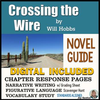Crossing the Wire - Novel G... by Joy Sexton | Teachers Pay Teachers